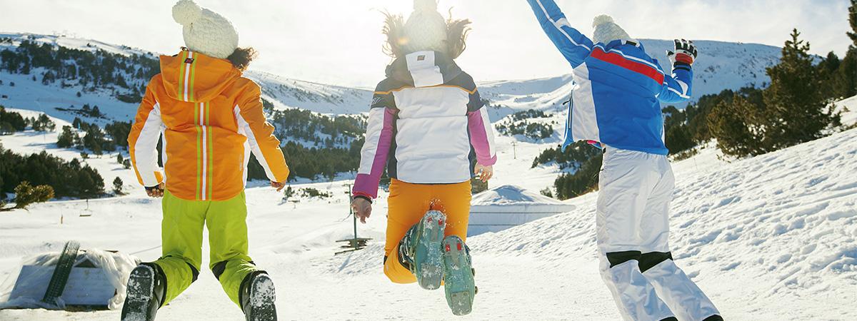 Ropa de esquí para niños y jóvenes
